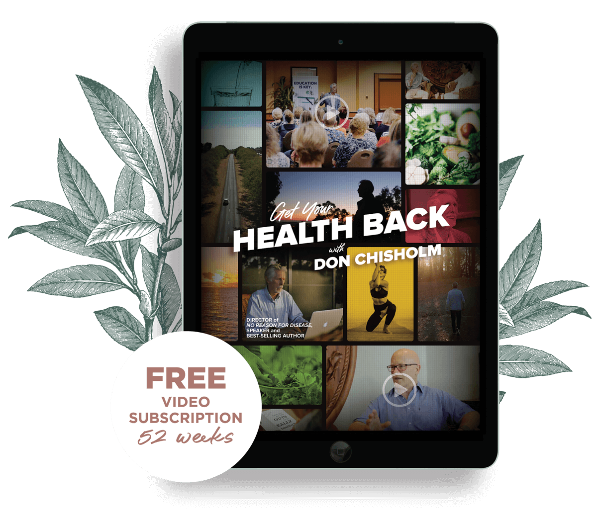 Get your health back with Don Chisholm